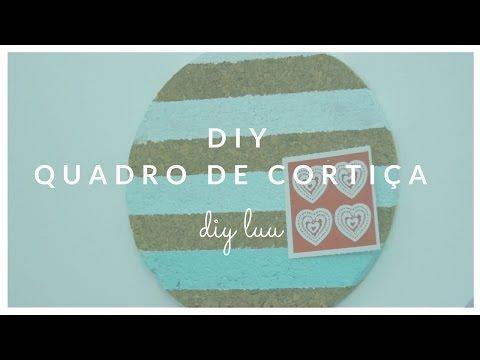 DIY Quadro de Cortiça com bases para quentes IKEA | diyluu - YouTube