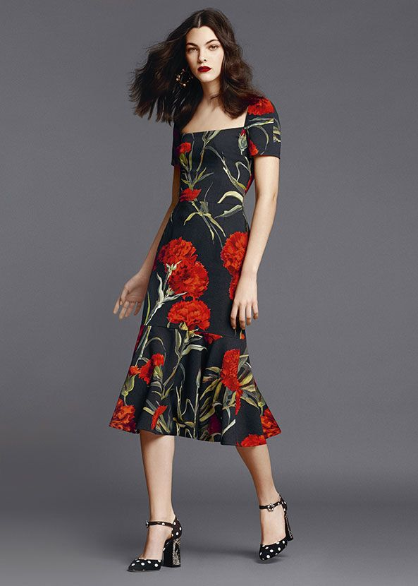 Dolce & Gabbana presents the Women's Clothing Collection for Summer 2015: shirts, denims, dresses, skirts, suits, blazers and more from the new Collection.