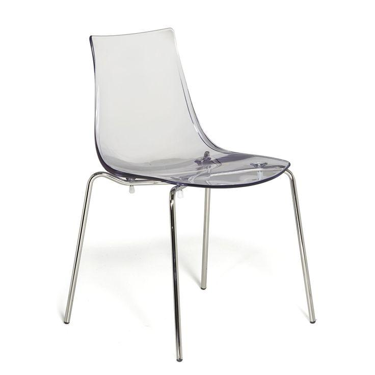 Chaise empilable transparente Transparent - Olivia Meuble - Chaises - Tables et chaises - Salon et salle à manger - Décoration d'intérieur - Alinéa