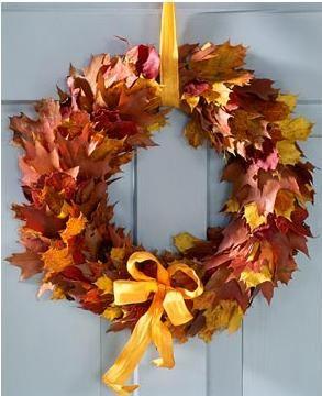 Поделки из листьев осени своими руками