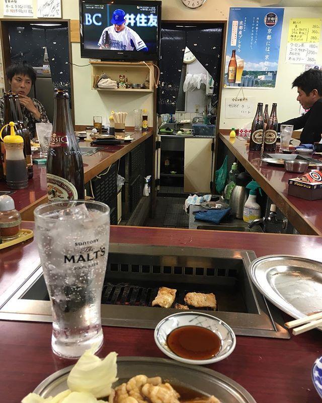 からの〜がっくし 頑張れ横浜 #京都 #大阪 #食べ歩き #食いしんぼう #美味い#イタリアン #イタリアン  #japanesefood #kyoto#osaka #beer #wine #肉 #JAPAN #ハワイ#焼肉#がっくし#野球 #ビール #サーフィン #ラーメン#ランチ#旅行#soulfood #家ご飯#横浜#野球#がっくり