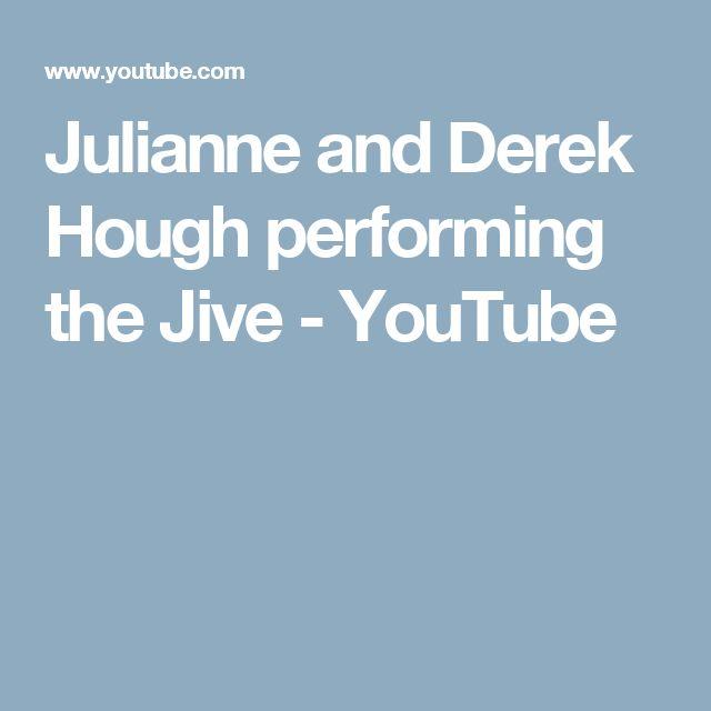 Julianne and Derek Hough performing the Jive - YouTube