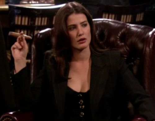 Robin Scherbatsky. How I met your mother