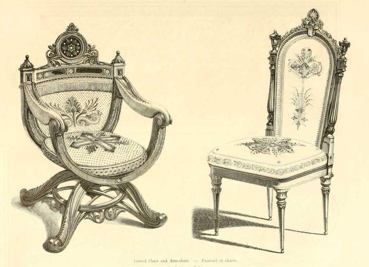img/dessins meubles mobilier/fauteuil et chaise.jpg