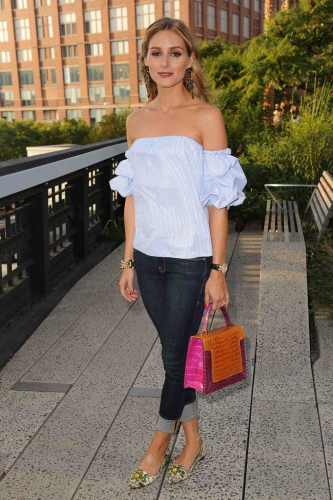 Olivia Palermo sur La High Line De New York !