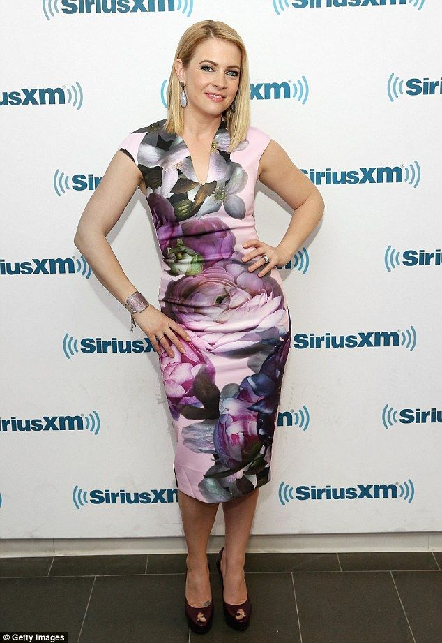 Hello petal: During an appearance at SiriusXM studios in New York on Thursday,  Melissa Jo...