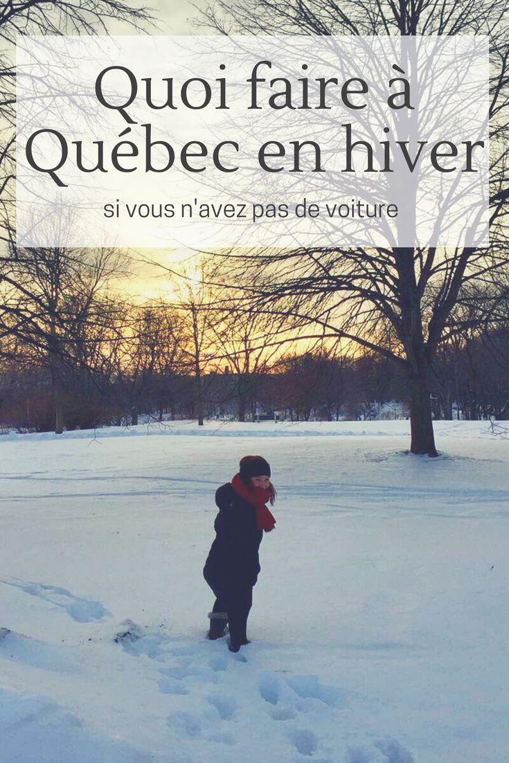 Je vous donne tous mes #conseils, #bonsplans et #quoifaire à #Quebec en #hiver !  . . . #blogging #voyage #canada #quebec #vieuxquebec #chateaufrontenac #improv #improvisation
