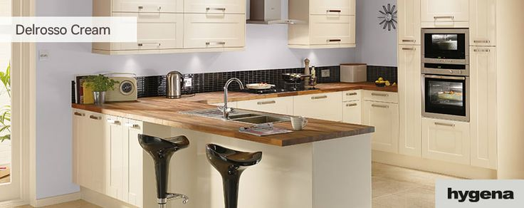 Cream Kitchen Ideas Uk cream kitchen ideas uk with woodblock worktop decorating style at