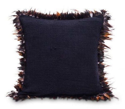 Feather cushion cover