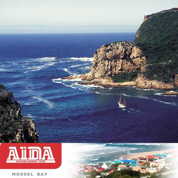 Attractions in the Garden Route. The Knysna Heads in Knysna. #knysna #attractions #gardenroute