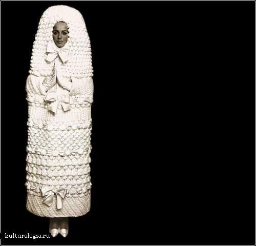 Самое оригинальное свадебное платье