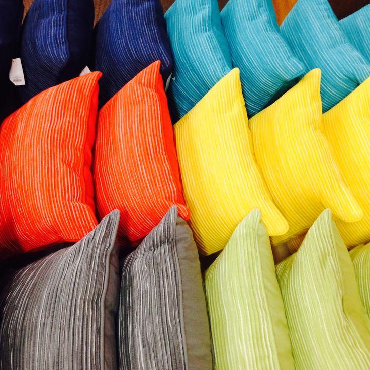 Colourful cushions!