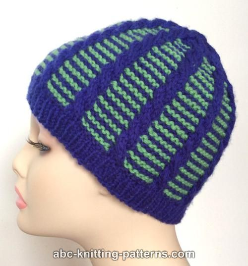 ABC Knitting Patterns - Cute Cables Hat