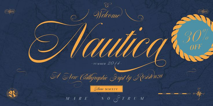 Nautica - Webfont & Desktop font « MyFonts