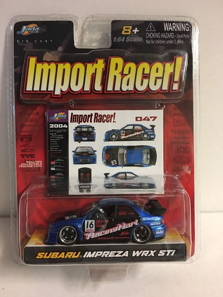 NEW 2004 Jada Toys Import Racer Subaru Impreza WRX STi    eBay