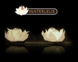 waterlelie kaars