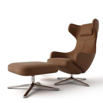 Гранд Преставление Lounge стул Vitra