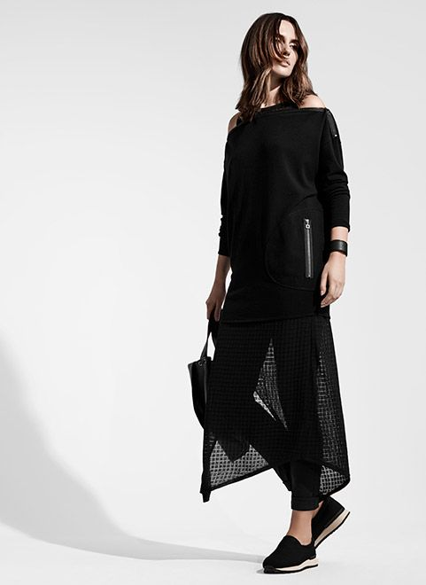 Find Sarah Pacini's ready to wear collection for who appreciate fashion beyond the usual. A unique collection of dresses, cardigans, coats, jeans and jewelry - Discover the collection
