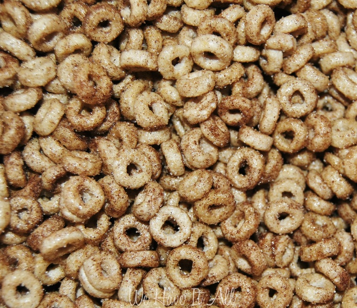 """Stir Fried Cheerios Recipe - Perfect Snack for Kids!    My mother made these often for us when I was a child.  But she didn't use the cinnamon and sugar.  She called them """"Buttered Cheerios"""".  They are soooo good!  I also made them for my children."""