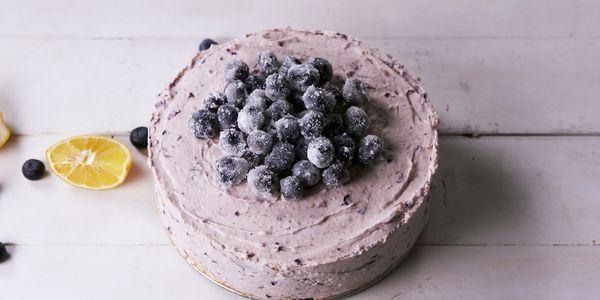 Best Lemon Blueberry Mousse Cake Recipe - How to Make Lemon Blueberry Mousse Cake