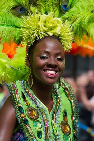 Notting Hill Carnival: Notting Hill is a mix of family-friendly events like kids' costume contests and parades, and more adult-fare with skimpy costumes and truck-mounted DJs.