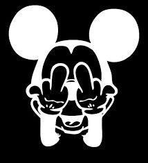 Resultado de imagem para imagens do mickey mostrando o dedo do meio
