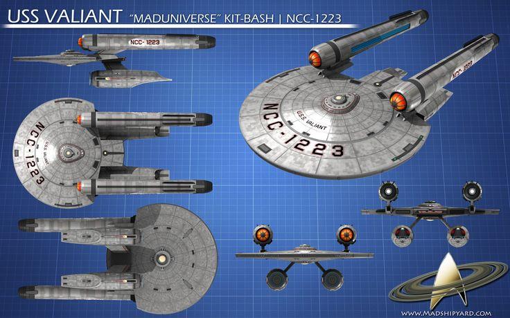 ncc 1223 u s s valiant star trek ships pinterest star trek ships the o 39 jays and engine. Black Bedroom Furniture Sets. Home Design Ideas