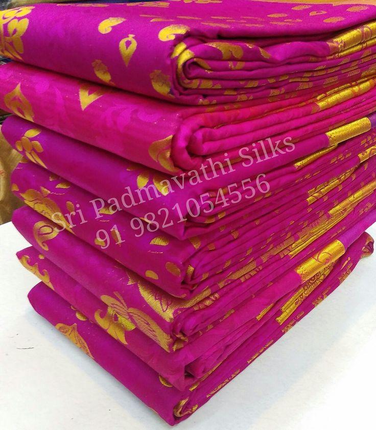 Anshita Collection - Abhirami Pattu in shades and hues of pink for the lovely festival look. Book now 91 9821054556 Sri Padmavathi Silks, the only South Indian store in Dombivli, India. Kancheepuram handloom pure silk sarees in Mumbai. International shipping available. Wholesale orders accepted. #saree #sareelove #abhirami #pattu #festivelook #indianfashion #indianfashion #beautiful #fashion #love #canada #malaysia #usa #uk #singapore #mumbai #thane #mulund #dombivli #chennai #weddingfashion