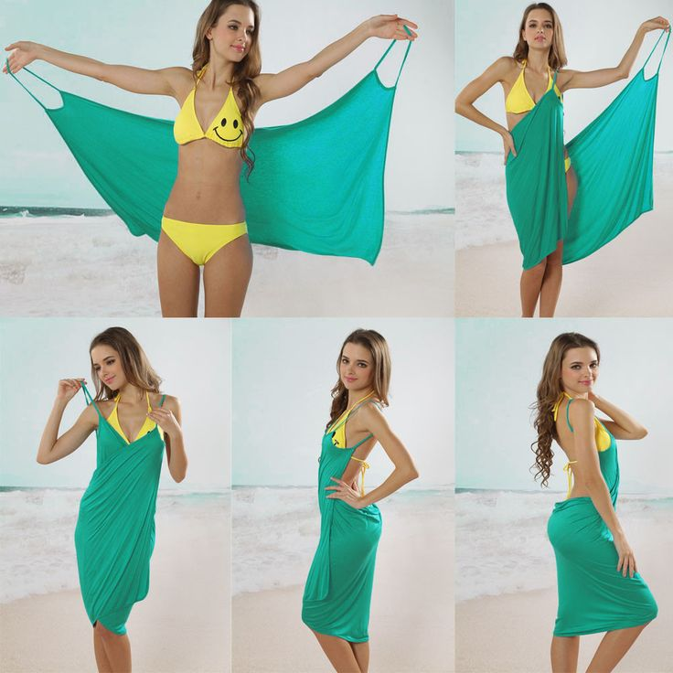 How easy!   ;-)   Bikini Wrap Dress - Assorted Colors