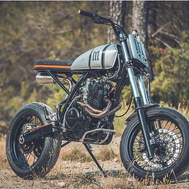 Thump-Thump:  Honda XR600 by @duke_motorcycles. #xr600 #dualsport #scrambler #tracker #streettracker