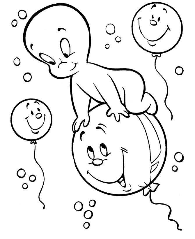 27 best Casper coloring book images on Pinterest Coloring books