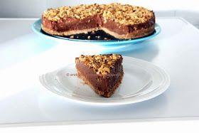 Arabafelice in cucina!: Cheesecake alla Nutella, senza cottura (e senza addensanti) di Nigella