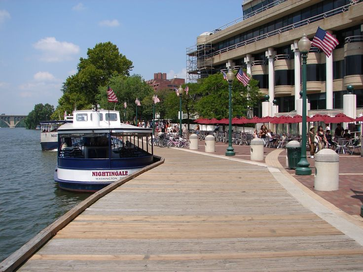 Capitol River Cruises offers a 45-minute historical narrative sightseeing tour of Washington, DC aboard a small river boat.