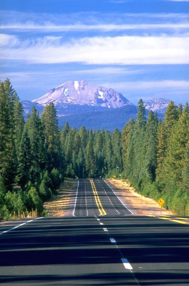 While the Pacific Coast Highway gets most of the attention from travelers looking for a scenic route from California into Oregon, if you go inland you'll find 500 of the most incredible miles in all of America: the Volcanic Legacy Scenic Byway.