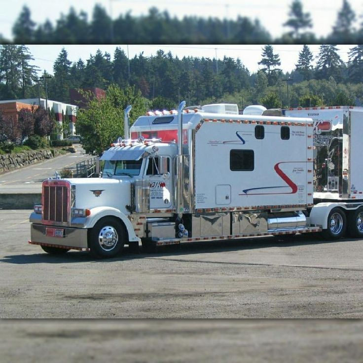 Custom Peterbilt Conventional With A Custom Large Walk