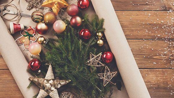 5 εντυπωσιακά χριστουγεννιάτικα στολίδια για να φτιάξεις μόνη σου