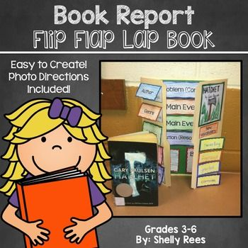 Book Reports have never been more engaging and fun! Your students will love writing about their books with this interactive book report project! The hands-on approach to learning through the components of this resource will surely keep your students on-task and excited about learning!If you have never used lap books before and are feeling hesitant, I assure you that I have made it very simple and headache-free for you.