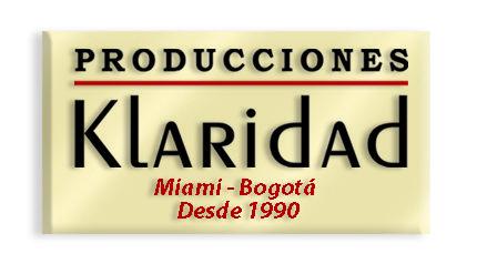 Fundadores de la radio colombiana en el Sur de la Florida. Radio Klaridad 1360 AM, en 1.990 , Hoy en día Radio Caracol 1260 AM. Actualmente editamos y dirigimos AquiColombia.Com  ÚNICA Revista Digital con Noticias Positivas de Colombia y de de los colombianos en el Exterior.    PRODUCCIONES KLARIDAD   Hernando Díaz Cobo   305 926 7084  Miami Fl. USA  HDiaz@Klaridad.com  www.AquiColombia.Com