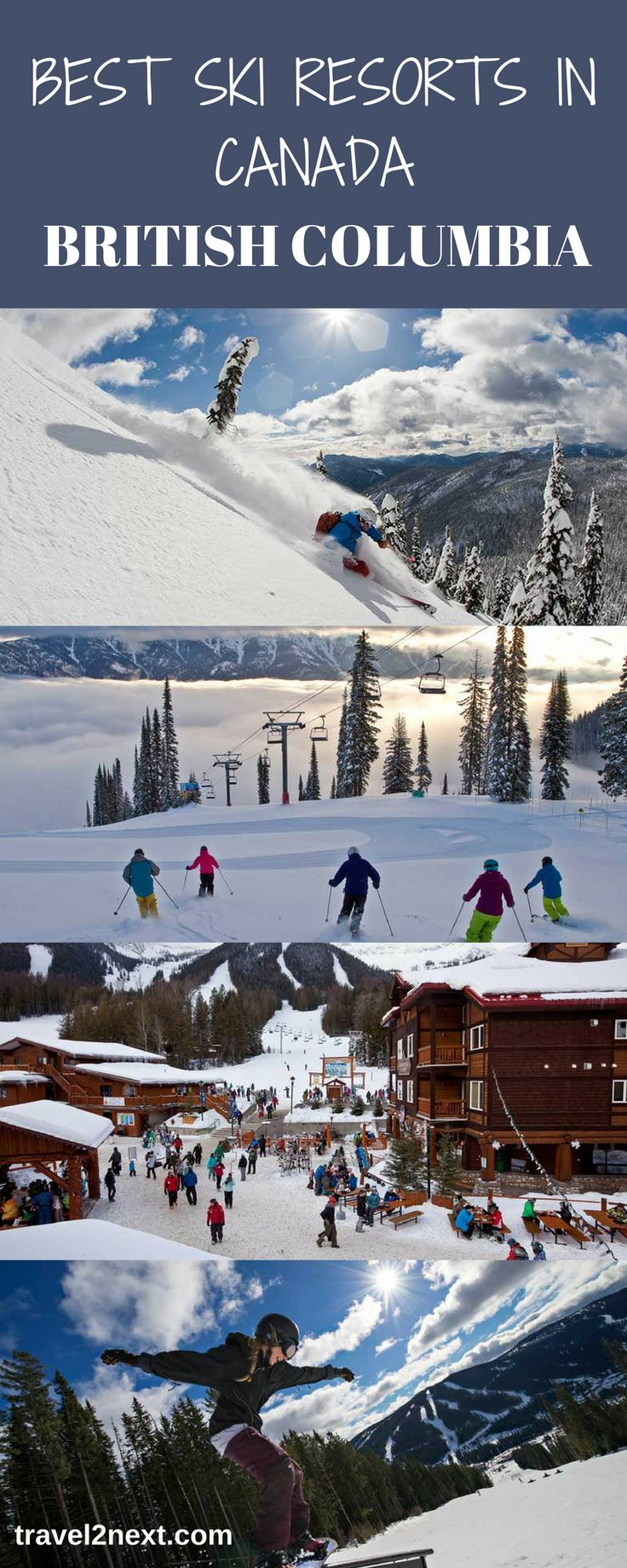 Skiing in Canada | Best Ski Resorts in Canada | Ski Canada. Canada is enormously attractive to skiers and snowboarders. With regular snow dumps, groomed slopes and well-planned mountains with plenty of facilities, it's no wonder Canada is popular.