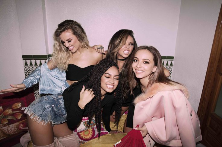 Little Mix for Glory Days Photoshoot