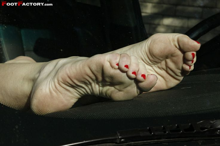 Dirty wrinkled soles