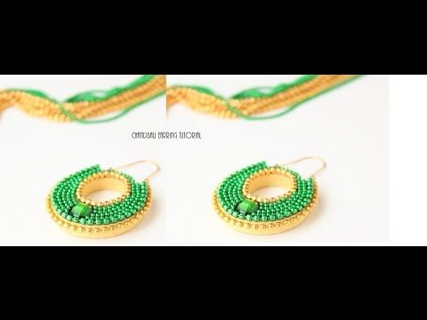 Creative fingers: How to make chandbali earrings easily/Quilling chandbali earrings tutorial
