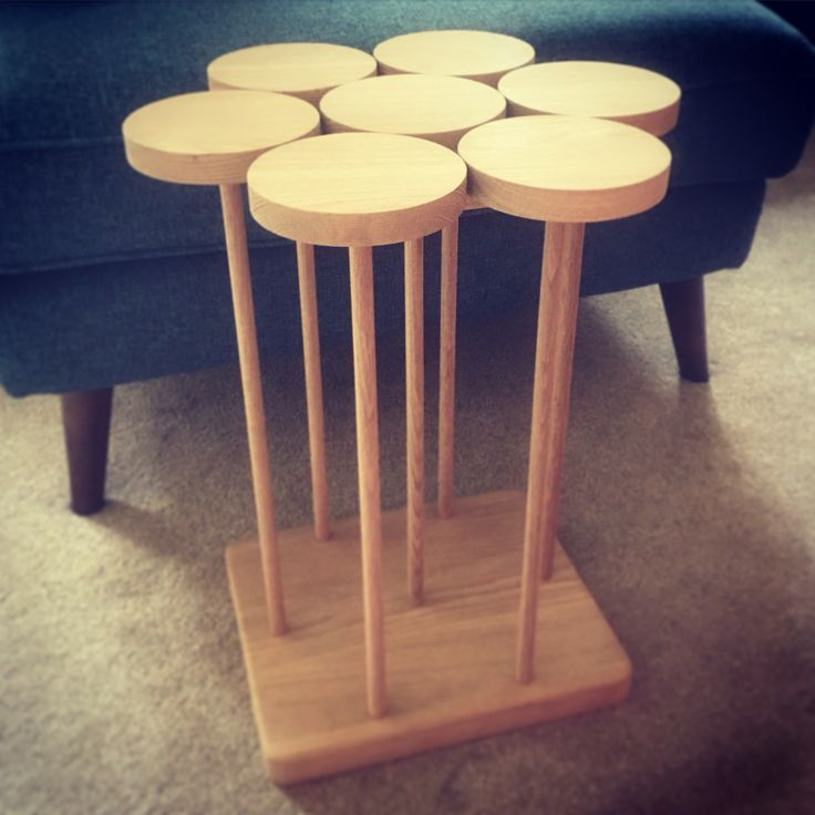 'Hope' table inspired by a seed tray.