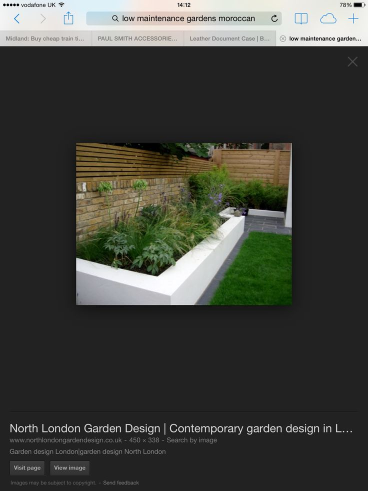 Raised bed/garden parapet wall
