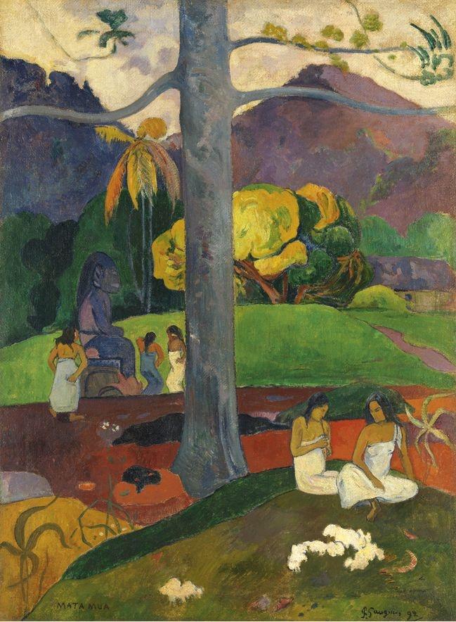 Paul Gauguin, Mata Mua, 1892.