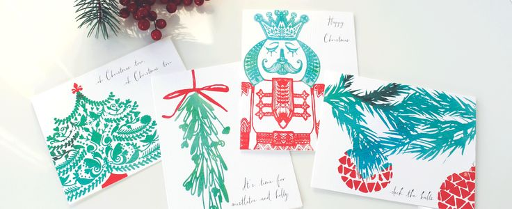 Love Like Red - Holiday Greeting Cards