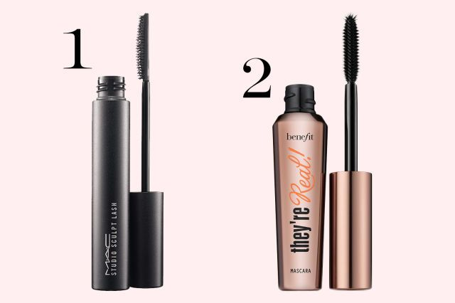 Black + Brown Balancing out blacked-out upper lashes by using a brown lengthening mascara on the bottom. It's softer and more flattering up close.