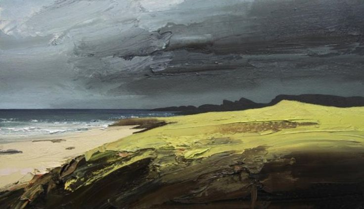 Chris Bushe RSW - Early Morning Light, Saligo Bay