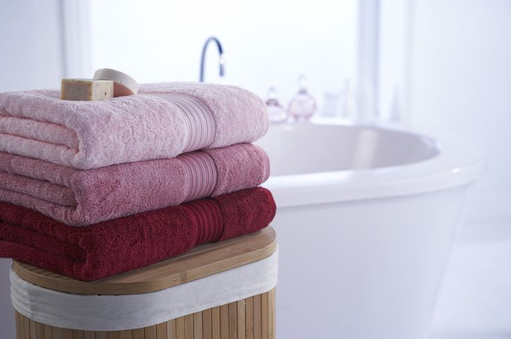 Christy Supreme Towels Pink