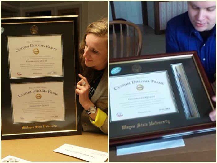 memory milestones college diploma frames